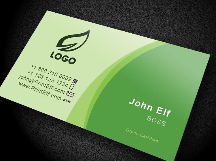 Download free printing designsstarter kitsd ai files0 green classic business card reheart Gallery