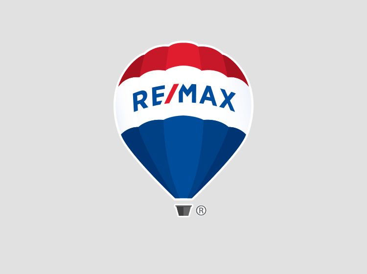 remax real estate balloon logo for your design needs