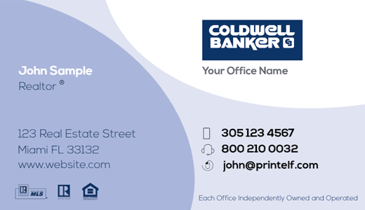 Coldwell Banker business card commercial