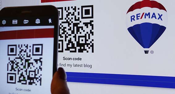 Select a design for QR code