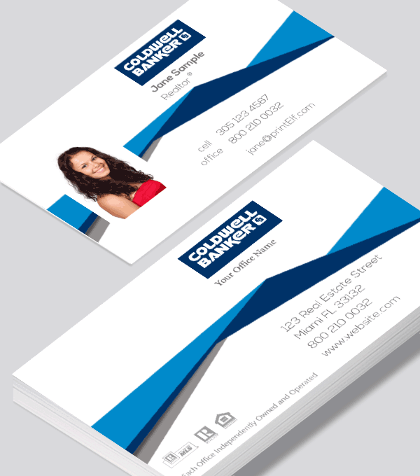 Real estate business card for Coldwell Banker