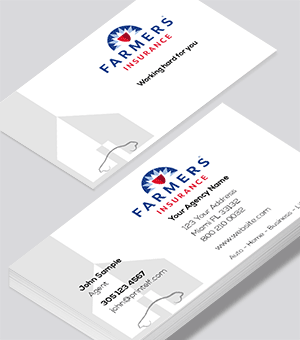 Farmers Insurance  business cards