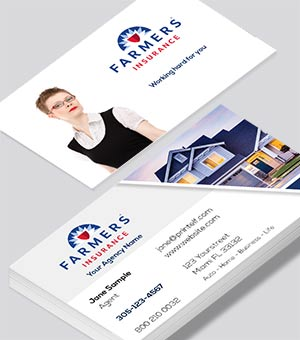 Farmers Insurance Home business card
