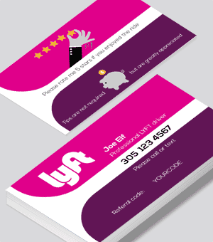 photo regarding Lyft Printable Logo titled Lyft organization playing cards posted through Printelf - Cost-free templates