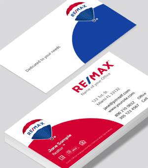 Elegant business card design for ReMax