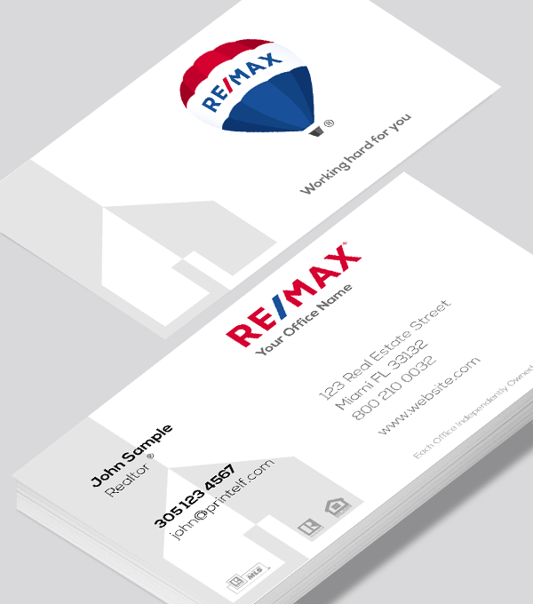 Remax commercial business card modern design modern contemporary business card design remax commercial business card solutioingenieria Gallery