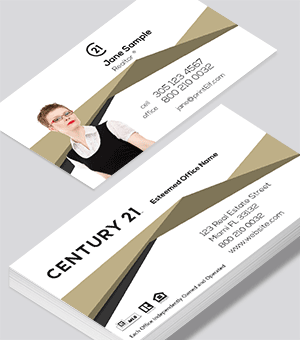 Century 21 Associate business card