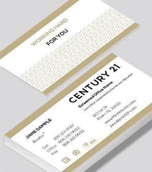 Century 21 Classic business card