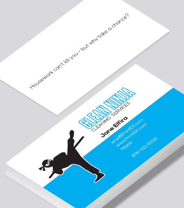 Cleaning business card modern design cleaning business card colourmoves