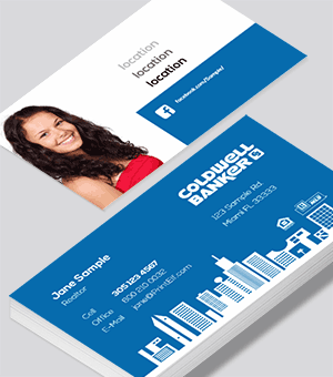 Coldwell Banker modern business card