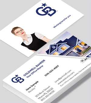 Coldwell Banker residential business card