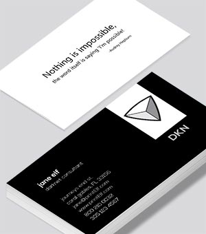 Darknet Consultant business card