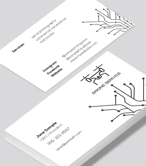 Drone Pilot business card