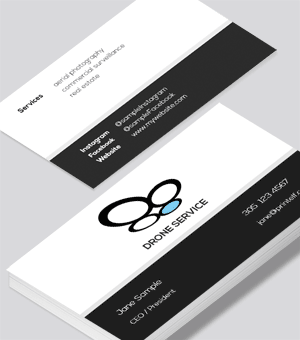 Drone Service business card