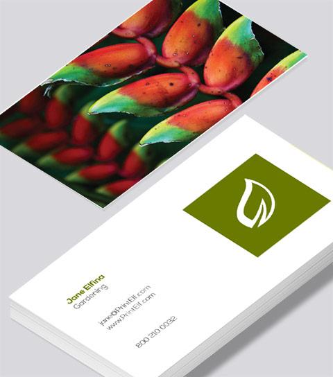 Gardening business card modern design gardening business card colourmoves