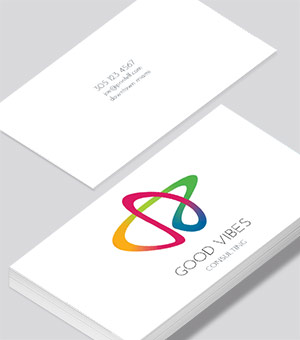 Business cards modern