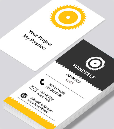 Design business cards select our designs to customize 0 handyman business card reheart