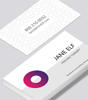 Entrepreneur entertainment business card modern design business cards modern reheart Choice Image