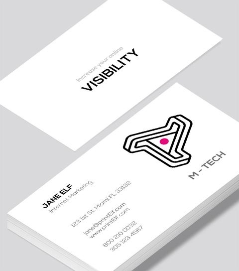 Internet marketing business card modern design internet marketing business card colourmoves Images