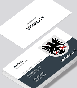 Internet Security business card