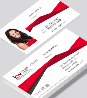 Keller Williams modern business card