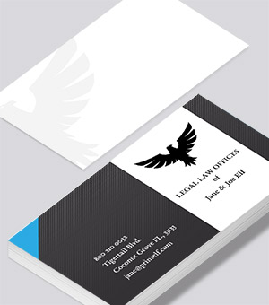 Legal Law business card