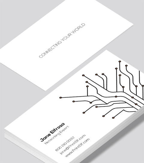 Networking business card modern design networking business card reheart Image collections