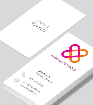 Nursing business card