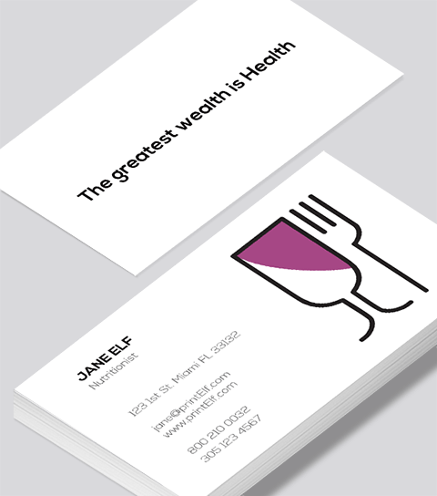 Nutritionist business card modern design modern contemporary business card design nutritionist business card colourmoves