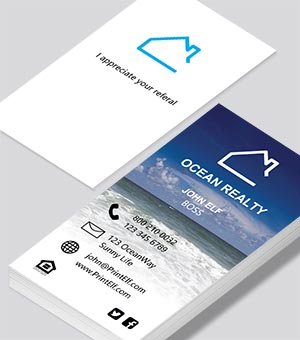 Design business cards select our designs to customize 0 ocean realty business card colourmoves