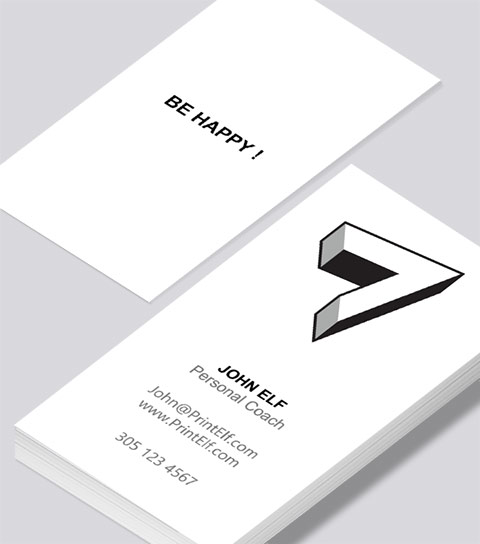 Freelance personal coach business card modern design freelance personal coach business card colourmoves Images