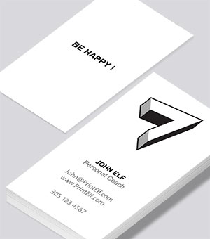 Freelance Personal Coach business card