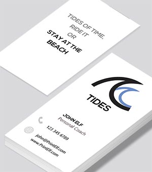 Personal Coach Tides business card