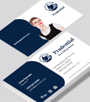 Prudential agent business card