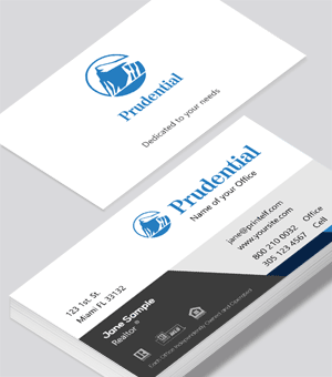 Prudential classic business card