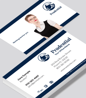 Prudential Realtor, Essentual business card