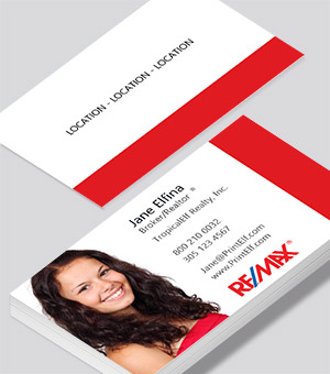 Remax Photo business card
