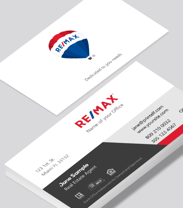 remax realtor business card