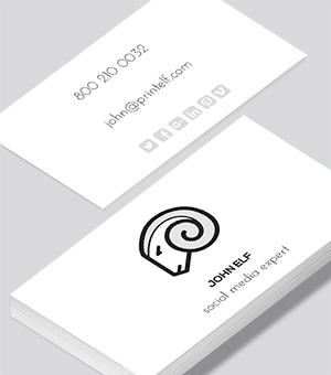 Design business cards select our designs to customize social media expert business card reheart Choice Image