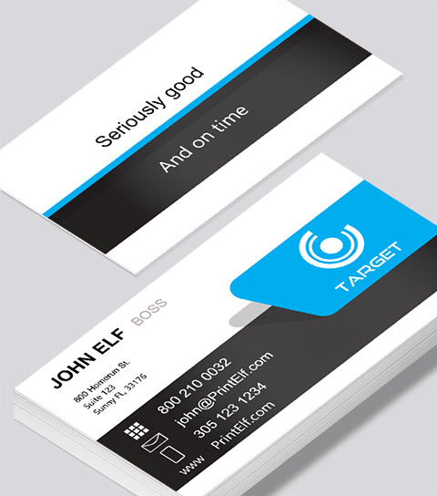 Design business cards select our designs to customize 0 target business card accmission Gallery