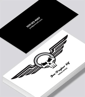 Tatoo business card