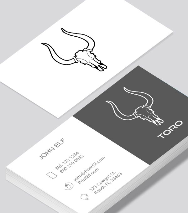 Toro tech business card modern design toro tech business card modern contemporary colourmoves