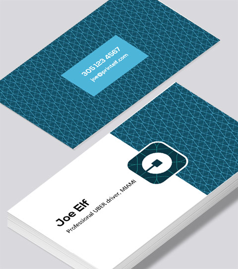 Uber business card modern design modern contemporary business card design uber business card reheart Gallery