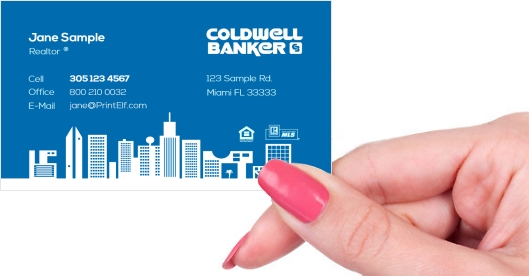 Colwell Banker business card