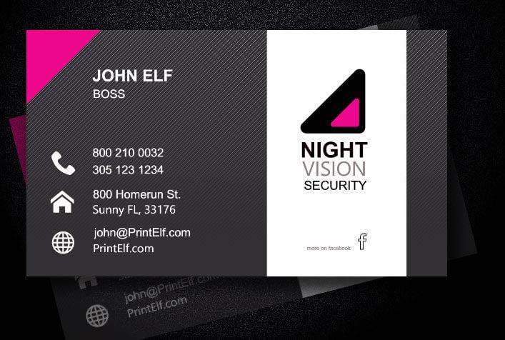 Freelance Business Card Entrepreneur